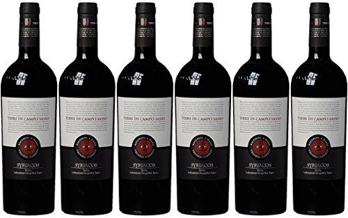 Terre di Campo Sasso Syriacos Vecchio Vigneto IGT Sicilia 2009, 6er Pack (6 x 0.75 l)