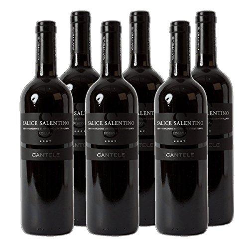 Cantele Salice Salentino Riserva DOC 2015 Rotwein Italien trocken (6x 0.75 l)