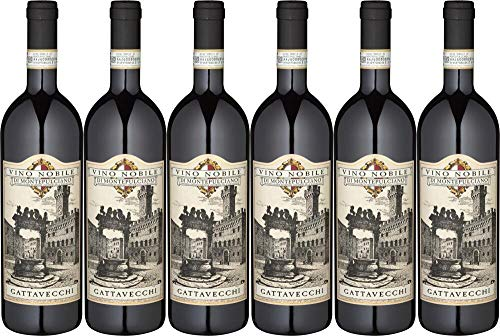6x Vino Nobile di Montepulciano 2017 - Weingut Gattavecchi, Toscana - Rotwein