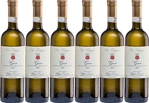 6x Gavi 2018 - Weingut Elio Filippino, Piemonte - Weißwein