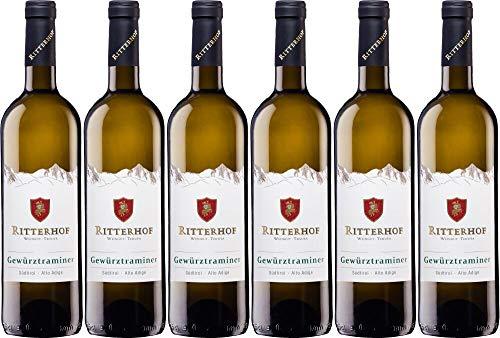6x Gewürztraminer Südtirol DOC 2019 - Weingut Ritterhof - Südtirol, Südtirol - Weißwein