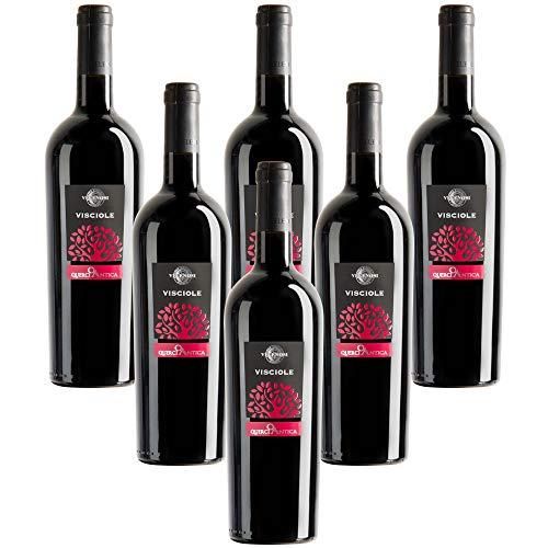 VELENOSI Weine - Querciantica-Wein und Visciole Produktion von italienischen Rotweinen (6 flaschen...