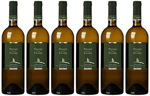 Poggio delle Faine Poggio Bianco IGT Chardonnay 2018 trocken (6 x 0.75)