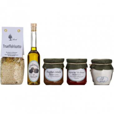 Geschenkset mit Piemonteser Köstlichkeiten