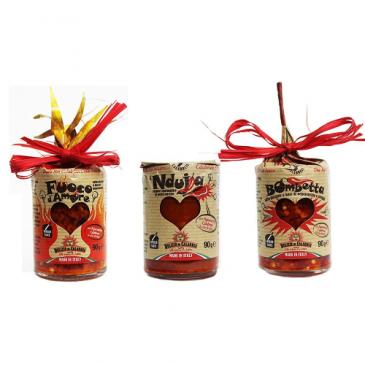 Geschenkidee italienische Chilisaucen