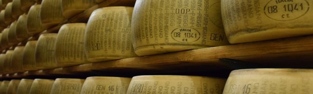 Geschenkidee - original Parmesan aus Italien